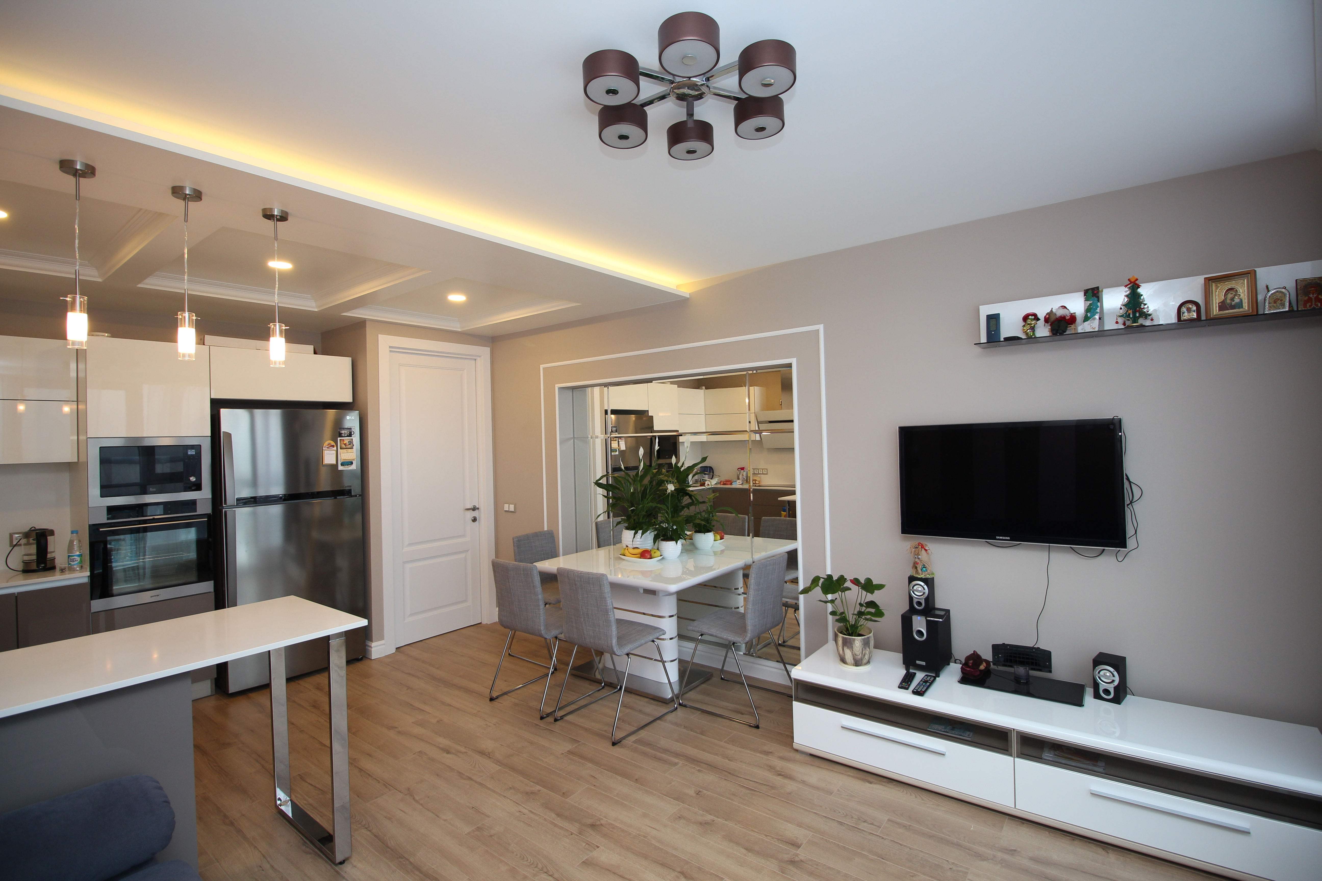 Дизайн квартир в стиле лофт 30 фото